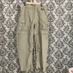 Columbia hiking pants/shorts combo